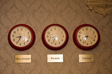 Time seems less significant at the Wasdale Head Inn