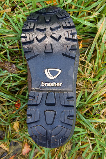 The brand-new outsole gave good traction and braking