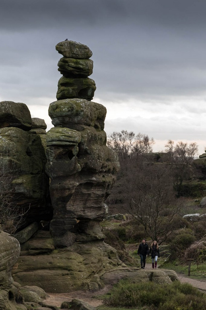 The man injured himself while scrambling at Brimham Rocks. Photo: Bob Smith/grough