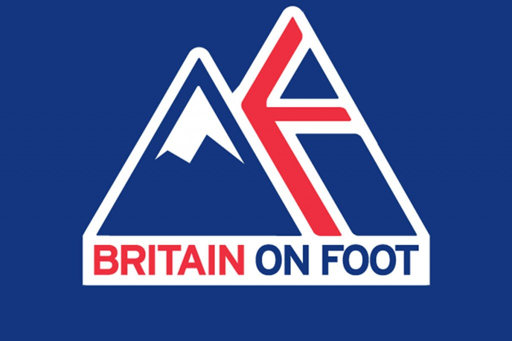 The Britain on Foot logo