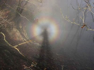 A Brocken Spectre. Photo: Σ64 CC-BY-3.0
