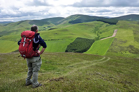 The challenge routes are across the Borders hills. Photo: BSARU
