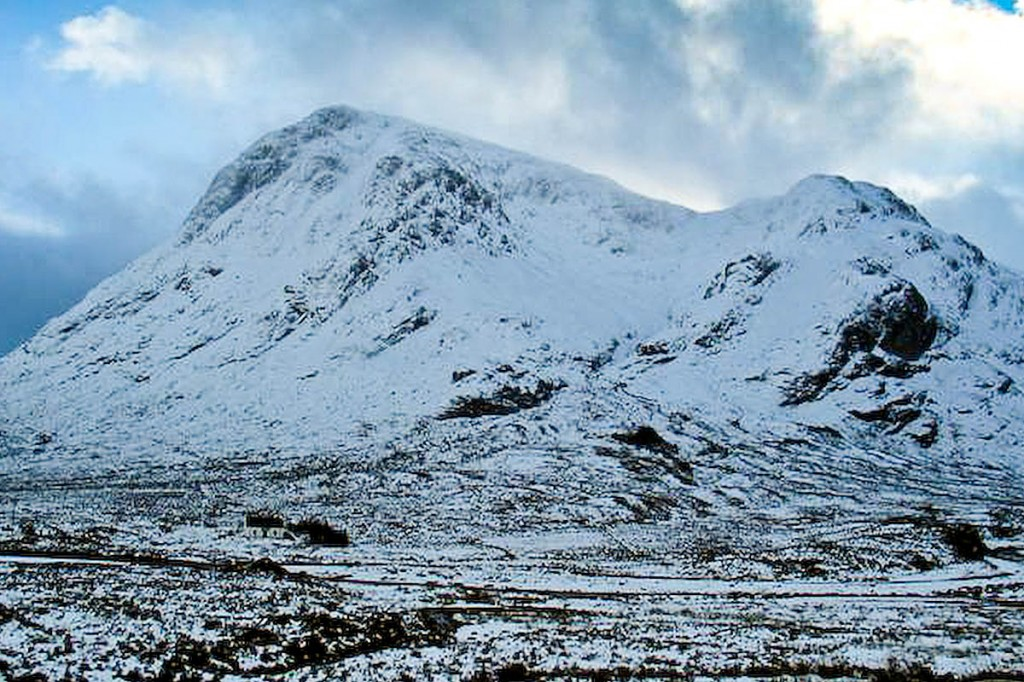 The men travelled to climb Buachaille Etive Mòr. Photo: Johnny Durnan CC-BY-SA-2.0