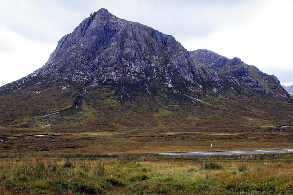 Mr Garton was staying near Buachaille Etive Mòr