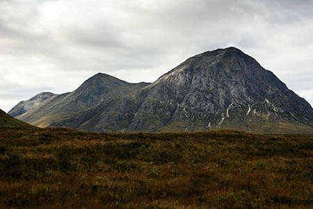 Mr King did not return from his walk on Buachaille Etive Mòr on Tuesday