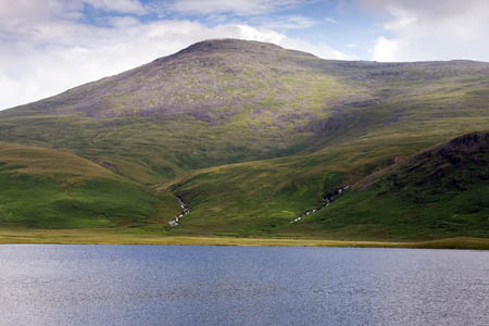 The Wasdale team rescued the injured woman above Burnmoor Tarn