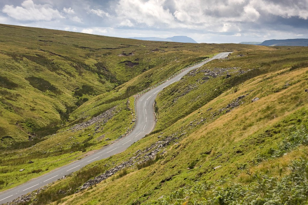 The cyclist was found by a motorist on the Buttertubs Pass