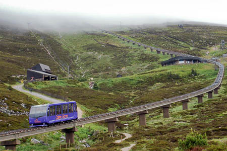 Councillors will visit the Cairn Gorm funicular railway. Photo: Peter CC-BY-SA-2.0