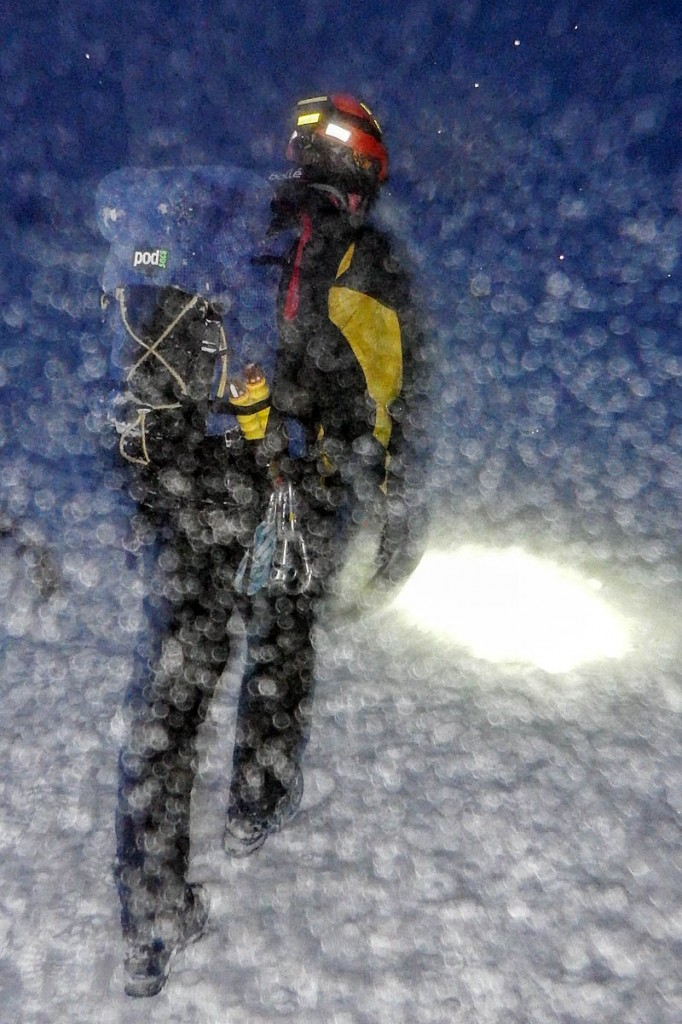 The rescue took place in blizzard conditions. Photo: Cairngorm MRT