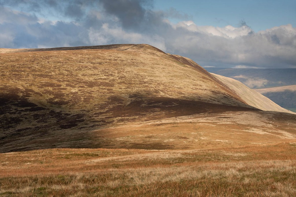 Britain's newest mountain Calf Top, in the Yorkshire Dales. Photo: Bob Smith/grough