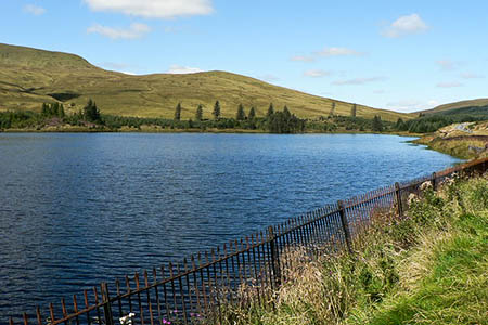The man died in Cantref Reservoir. Photo: Mick Lobb CC-BY-SA-2.0