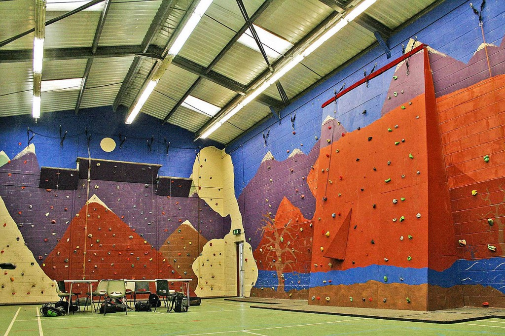 The event at the Carlton Lodge climbing wall will help the Nepal appeal