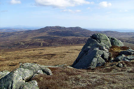 The view from Carn an Lochan, near the proposed site of the windfarm. Photo: Rob Woodall CC-BY-SA-2.0