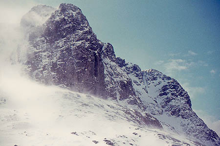 Carn Dearg Buttress. Photo: Jim Barton CC-BY-SA-2.0