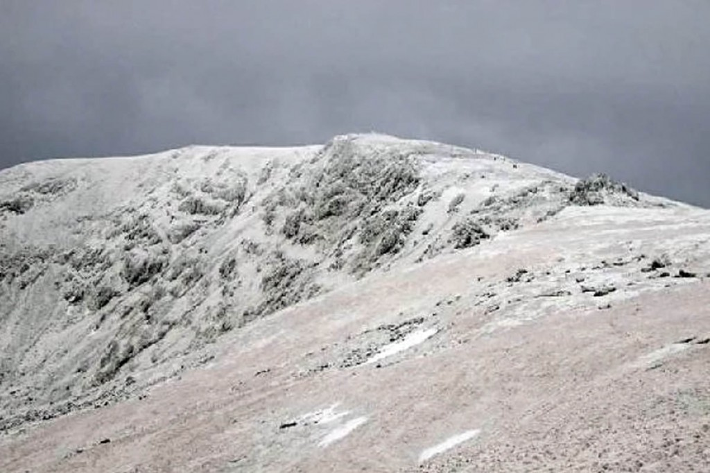 The trail of blood was found on Carnedd Llewelyn. Photo: David Crocker CC-BY-SA-2.0