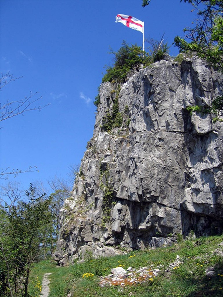 The teenager fell from Castlebergh Rock. Photo: John S Turner CC-BY-SA-2.0