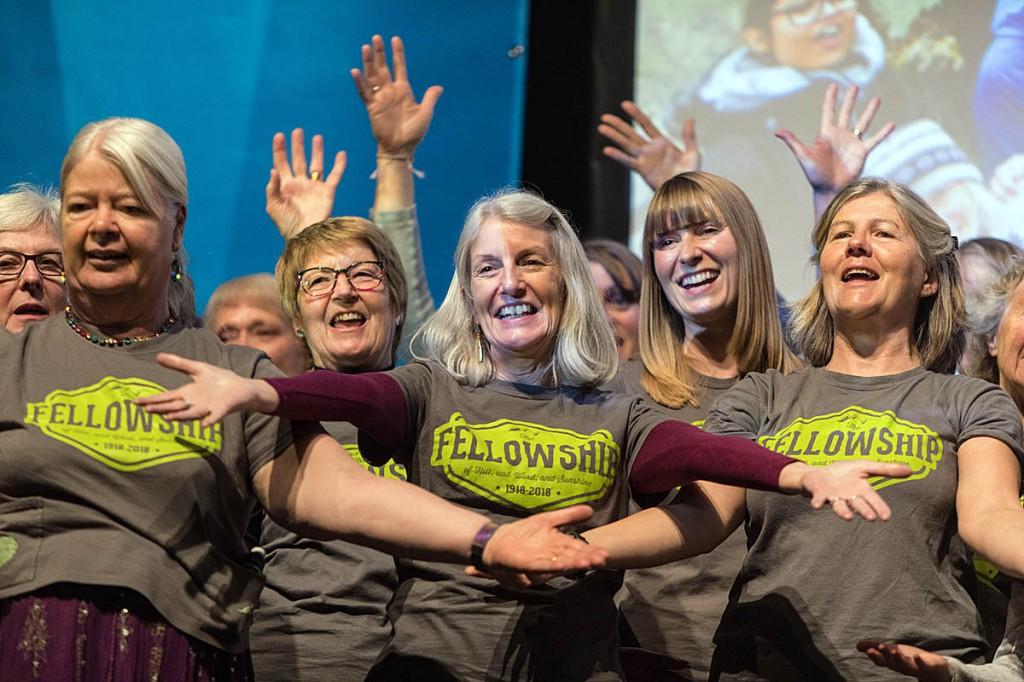 The Fellowship choir. Photo: Bob Smith/grough