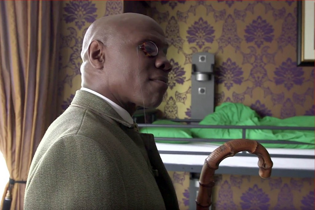 Chris Eubank in a still from the YouTube film