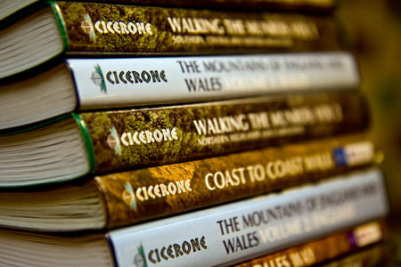 Cicerone's publications are aimed at outdoor enthusiasts