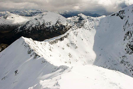 The woman was injured in an avalanche in Coire Leis