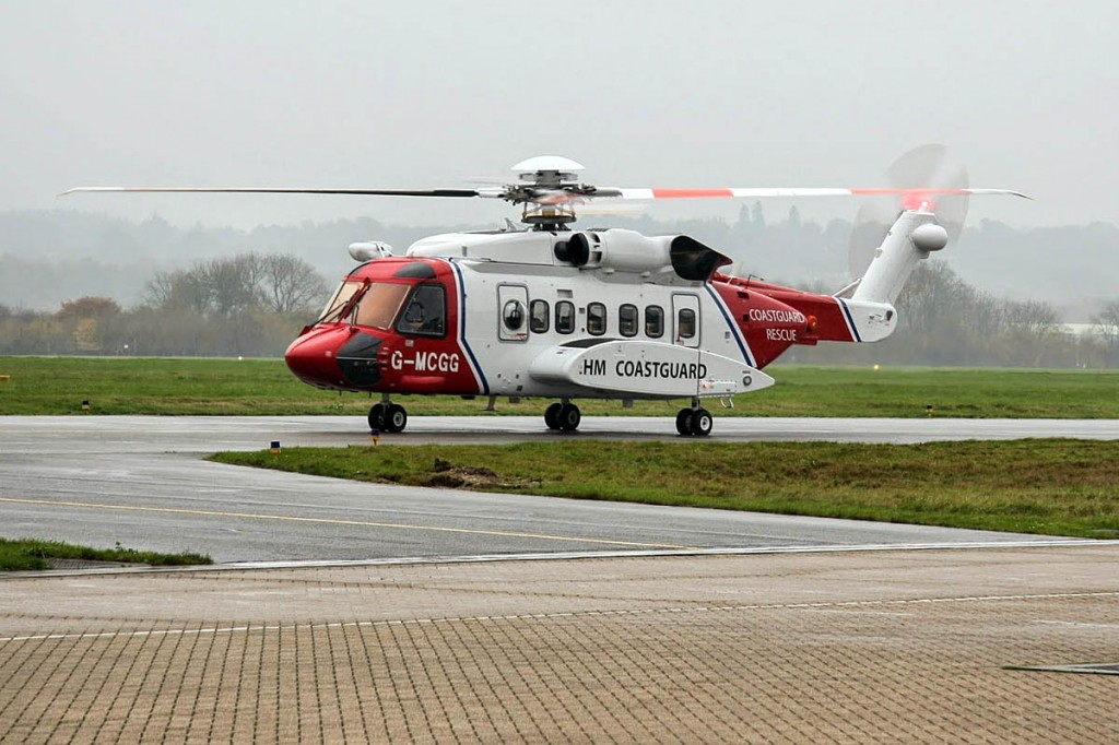 The privatised search and rescue helicopter service was launched. Photo: MCA