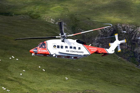 Sikorsky S-92s, similar to ones currently used by the Coastguard, will form part of the new service