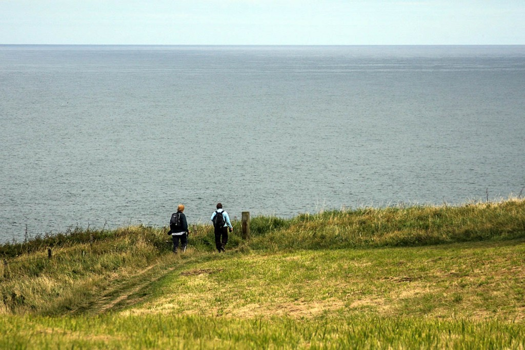 The Ramblers feared the England Coast Path had been 'left in the cold'