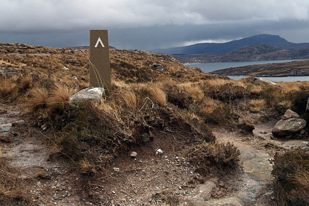 The incident was on the Coigach coastal path between Blughasary and Culnacraig. Photo: Chris Eilbeck CC-BY-SA-2.0