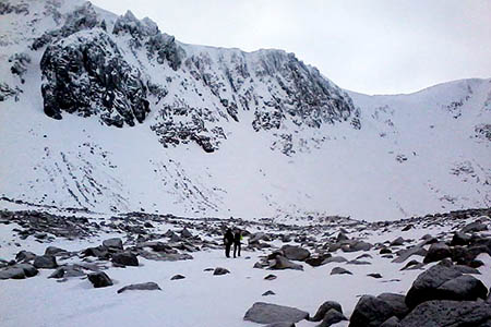 Coire an t-Sneachda. Photo: William M Connolley CC-BY-SA-3.0