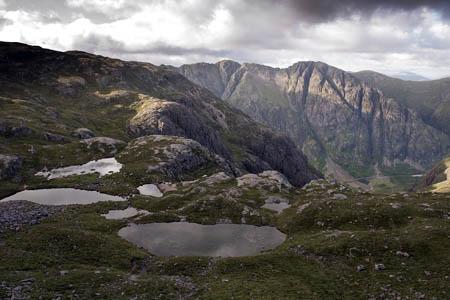 The upper reaches of Coire nan Lochan