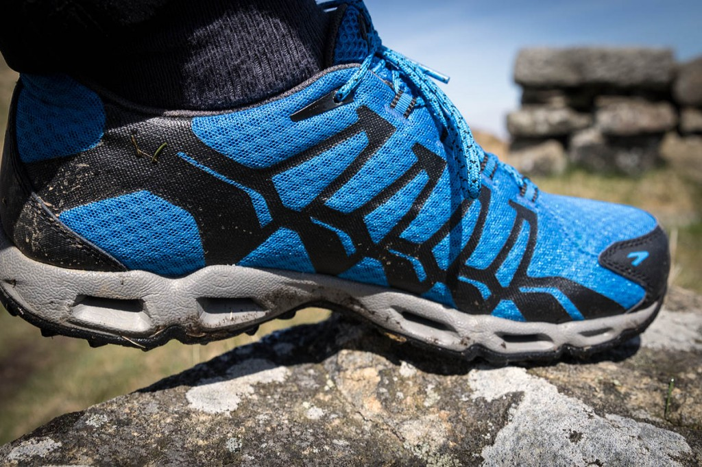 Trail shoes should offer comfort and grip for walkers