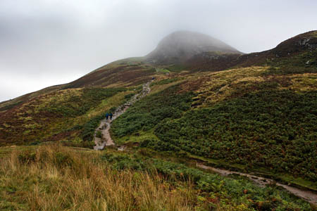Conic Hill, scene of yesterday's rescue