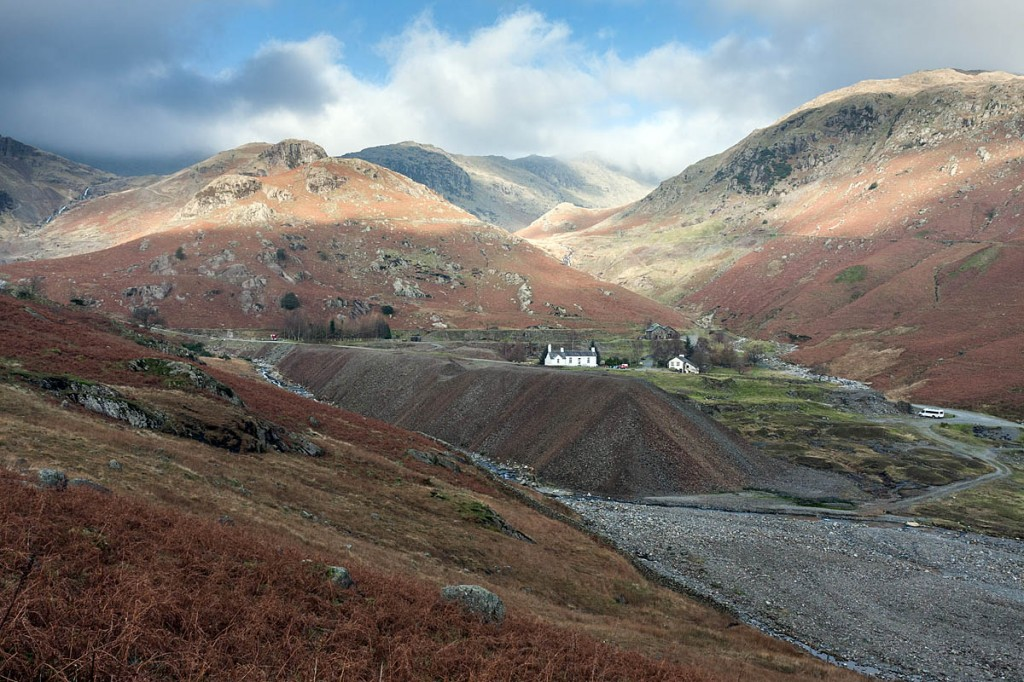The search took place in the Coppermines Valley above Coniston. Photo: Bob Smith/grough