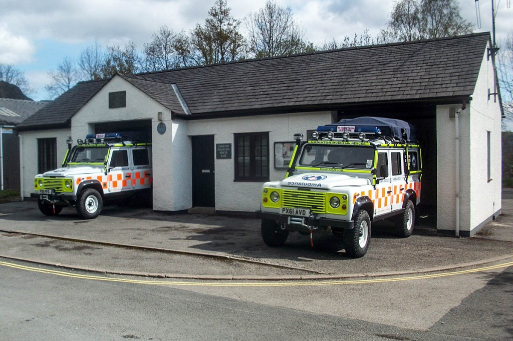 The team is based in the village of Coniston in the Lake District