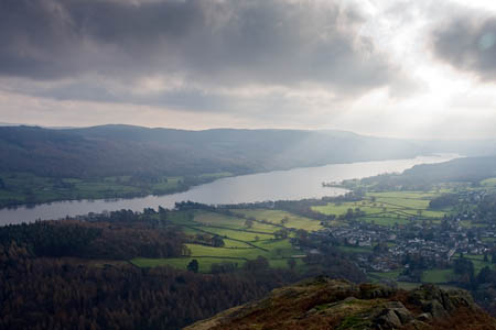 The rescue was on the eastern shore of Coniston Water