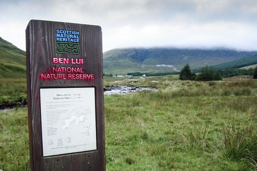 Ben Lui has had its national nature reserve status removed