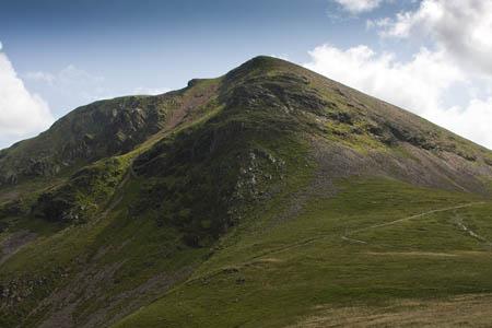 The body was found near Crag Hill