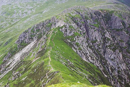 The woman fell on Craig yr Isfa. Photo: Terry Hughes CC-BY-SA-2.0