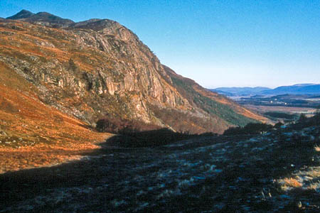 Creag Dhubh, scene of the climbing accident. Photo: Alan Reid CC-BY-SA-2.0