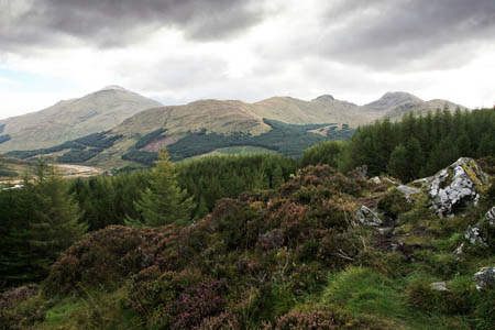 Mr Bell's remains were found by a walker between Crianlarich and Tyndrum