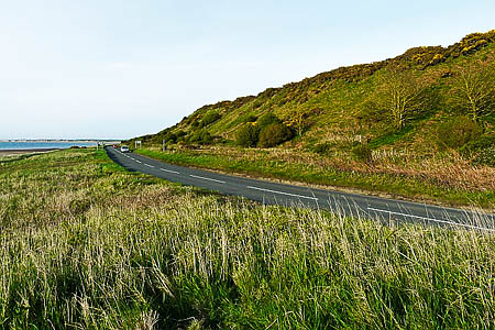 The coastal area at Crosscanonby were the cycleway is planned. Photo: Rose and Trev Clough CC-BY-SA-2.0
