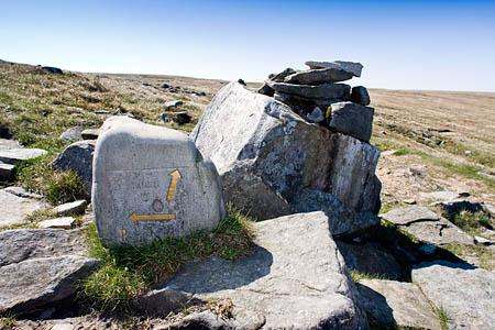 Direction indicators at the Yat Stone