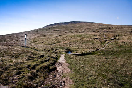 The walker was lost near Cross Fell