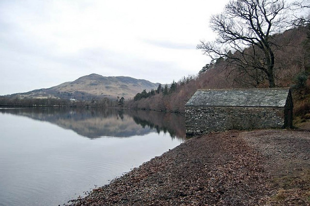 The incident happened near the boathouse on the shore of Crummock Water. Photo: Trevor Harris CC-BY-SA-2.0