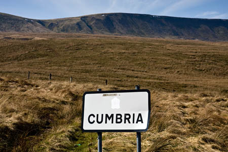 A 'dull and boring' Cumbria sign