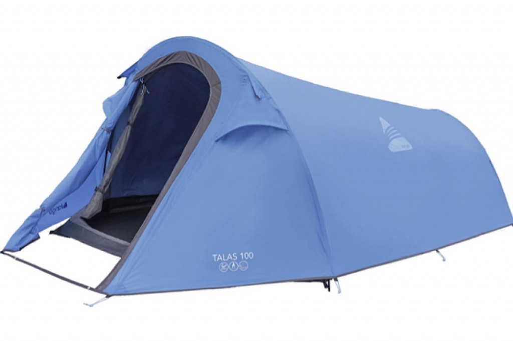 A tent similar to the one the missing man is believed to be using