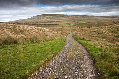 The byway from Churn Milk Hole to Dale Head