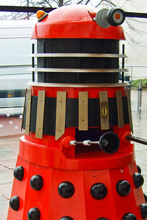 A Dalek, more familiar than a magpie. Photo: Sarah McCulloch CC-BY-SA-3.0