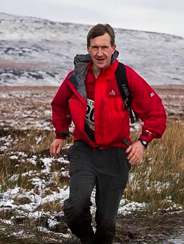 Dan Jarvis in action. Photo: Adrian Ashworth/Everything Outdoors