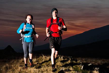 Runners will need good night-navigation skills. Photo: Ben Winston